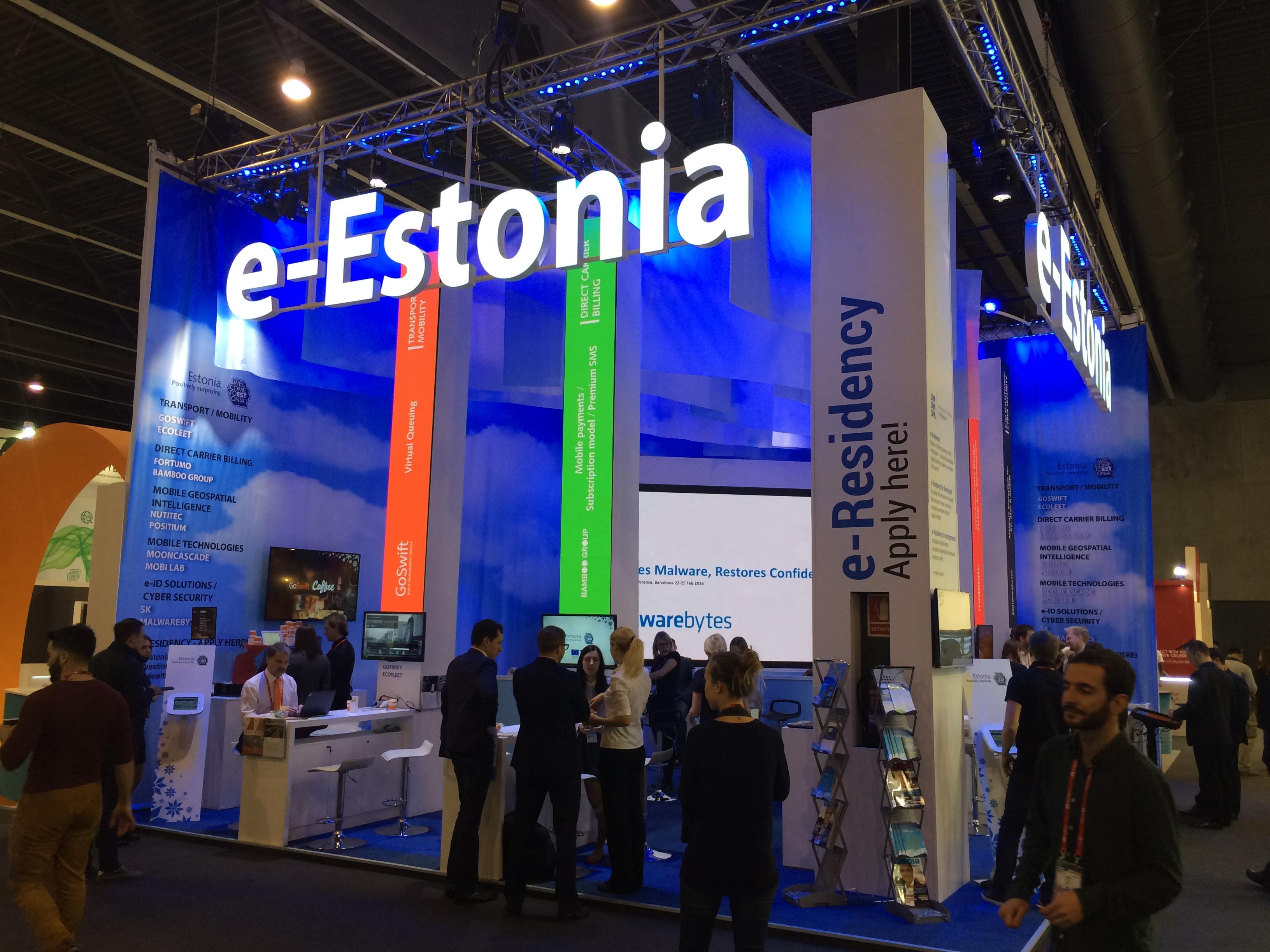 Eesti ühisstend Mobile World Congressil